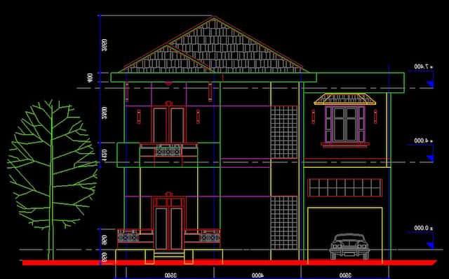biet thu co tang ham btcth001a - Các dự án thiết kế nhà biệt thự có tầng hầm đẹp đã thực hiện