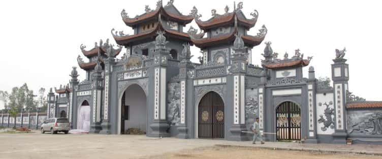 Thiết kế kiến trúc cổng tam quan