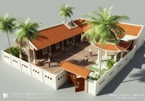 mau thiet ke nha tho ho dep 1 qpr 300x210 - Thiết kế nhà thờ họ ở Hưng Yên