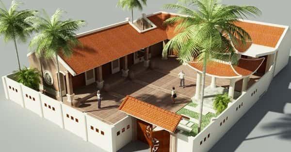 Thiết kế nhà thờ họ ở Hưng Yên