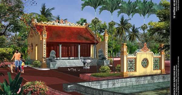 Thiết kế nhà thờ họ ở Đồng Nai