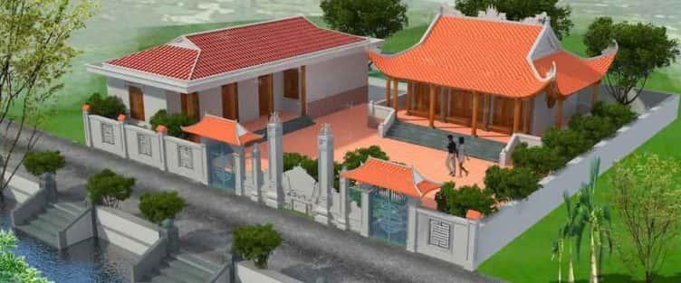 Thiết kế nhà thờ họ ở Bắc Ninh