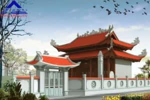 mau thiet ke nha tho ho dep mauso15 pc4 300x200 - Thiết kế nhà thờ họ ở Hà Tĩnh