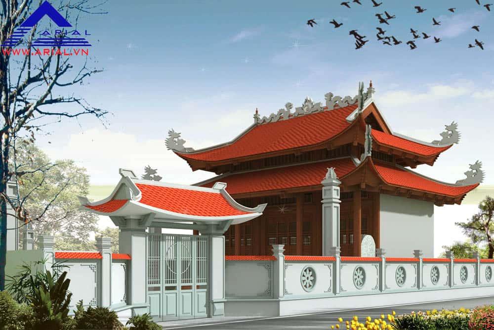 Thiết kế nhà thờ họ ở Hà Tĩnh