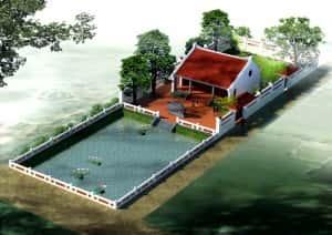 mau thiet ke nha tho ho dep nha tho ho 300x212 - Thiết kế nhà thờ họ ở Quảng Ngãi
