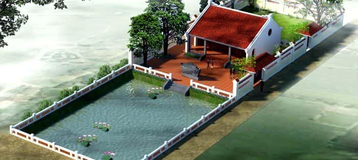 Thiết kế nhà thờ họ ở Quảng Ngãi