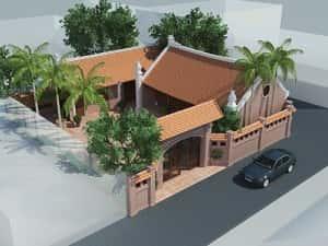 mau thiet ke nha tho ho dep totiepgiapnhathoho 0f92 300x225 - Thiết kế thi công nhà thờ họ, nhà từ đường ở Vinh