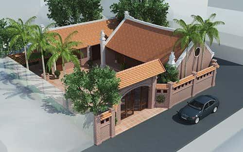 Thiết kế thi công nhà thờ họ, nhà từ đường ở Vinh