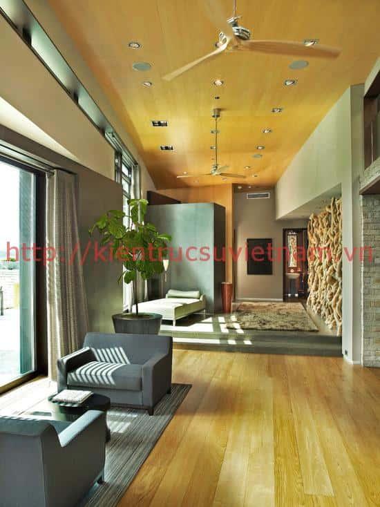 Mẫu thiết kế nhà đẹp phong cách hiện đại