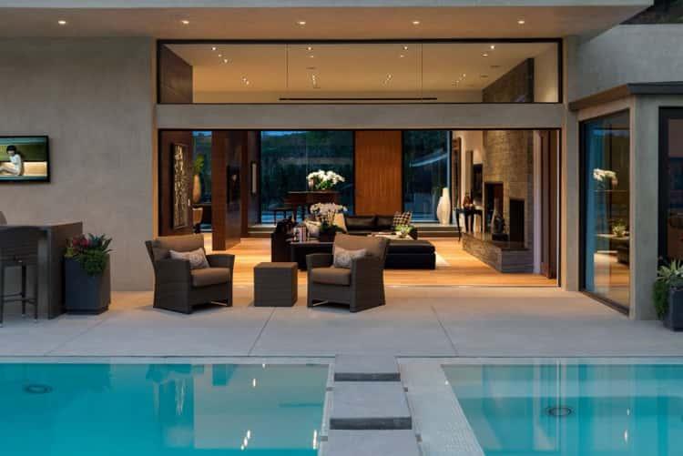 thiet ke biet thu co be boi 1367124575 mau nha dep 16 - Các dự án thiết kế nhà biệt thự có bể bơi đẹp đã thực hiện