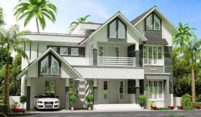 Thiết kế nhà biệt thự có gara