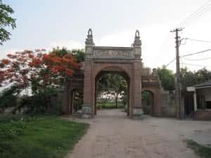 thiet ke kien truc cong lang dep 00 full 300x225 - Kiến trúc và văn hóa cổng làng người Việt