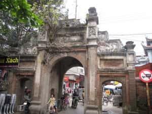 thiet ke kien truc cong lang dep 11 full 300x225 - Kiến trúc và văn hóa cổng làng người Việt