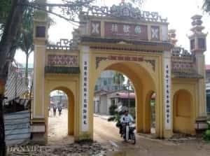 thiet ke kien truc cong lang dep 300x223 - Kiến trúc và văn hóa cổng làng người Việt