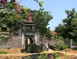 thiet ke kien truc cong lang dep 56801277 300x230 - Kiến trúc và văn hóa cổng làng người Việt