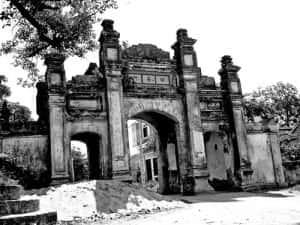 thiet ke kien truc cong lang dep Cong Duong Xa 300x225 - Kiến trúc và văn hóa cổng làng người Việt