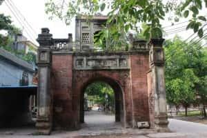 thiet ke kien truc cong lang dep nc15 PXRJ 300x200 - Kiến trúc và văn hóa cổng làng người Việt