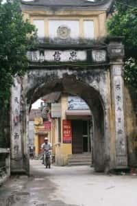 thiet ke kien truc cong lang dep t450245 200x300 - Kiến trúc và văn hóa cổng làng người Việt