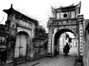 thiet ke kien truc cong lang dep tr59b 300x225 - Kiến trúc và văn hóa cổng làng người Việt