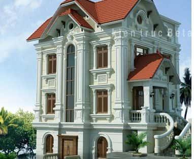 Thiết kế nhà biệt thự có tầng hầm