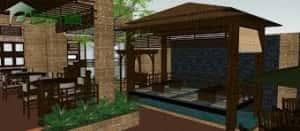 thiet ke quan cafe24 300x131 - Kiến trúc độc đáo Cà phê Sân Vườn Corazon