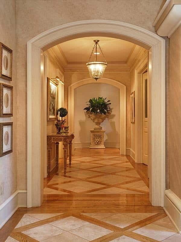 tien sanh va hanh lang dep 001 26072012btbenho 4 fed35 - Thiết kế tiền sảnh và hành lang ngôi nhà