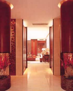 tien sanh va hanh lang dep 001 ts2 450616 1388980564 - Thiết kế tiền sảnh và hành lang ngôi nhà