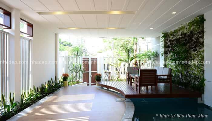 tien sanh va hanh lang dep 001 - Thiết kế tiền sảnh và hành lang ngôi nhà