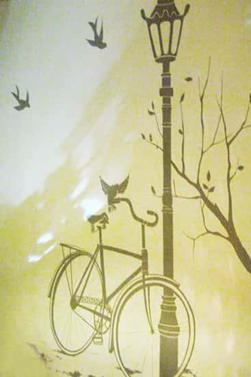 tranh tuong phong hoc tieng anh Chillout2622010 - Vẽ tranh tường trung tâm ngoại ngữ