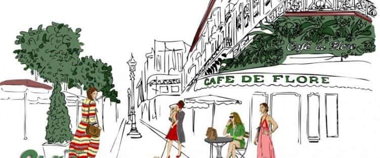 Vẽ tranh tường quán cafe đẹp