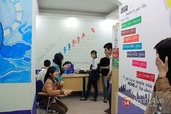 tranh tuong trung tam ngoai ngu - Vẽ tranh tường trung tâm ngoại ngữ