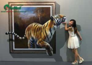 ve tranh tuong 3d dep a 300x214 - Vẽ Tranh Tường 3D đẹp
