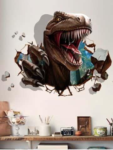 ve tranh tuong 3d dep poi - Vẽ Tranh Tường 3D đẹp