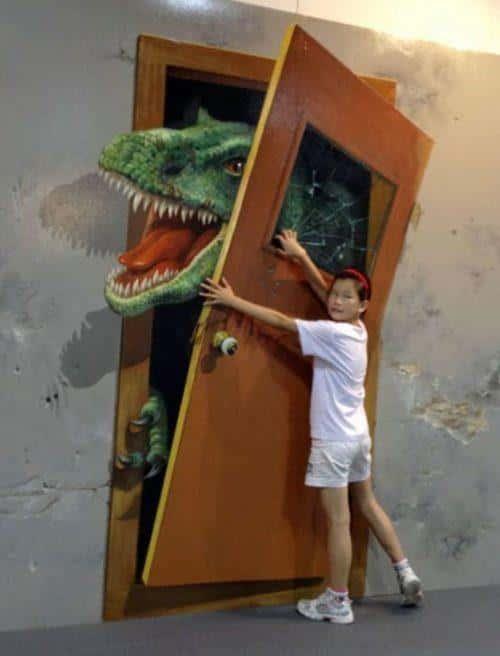 ve tranh tuong 3d depb - Vẽ Tranh Tường 3D đẹp