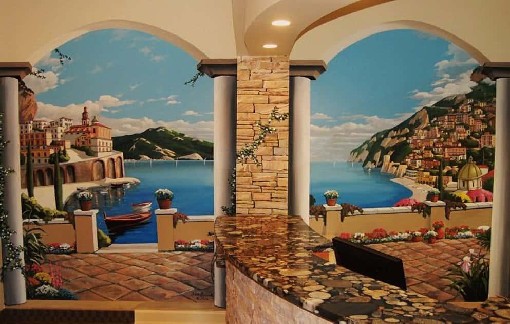 ve tranh tuong 3d depd - Vẽ Tranh Tường 3D đẹp