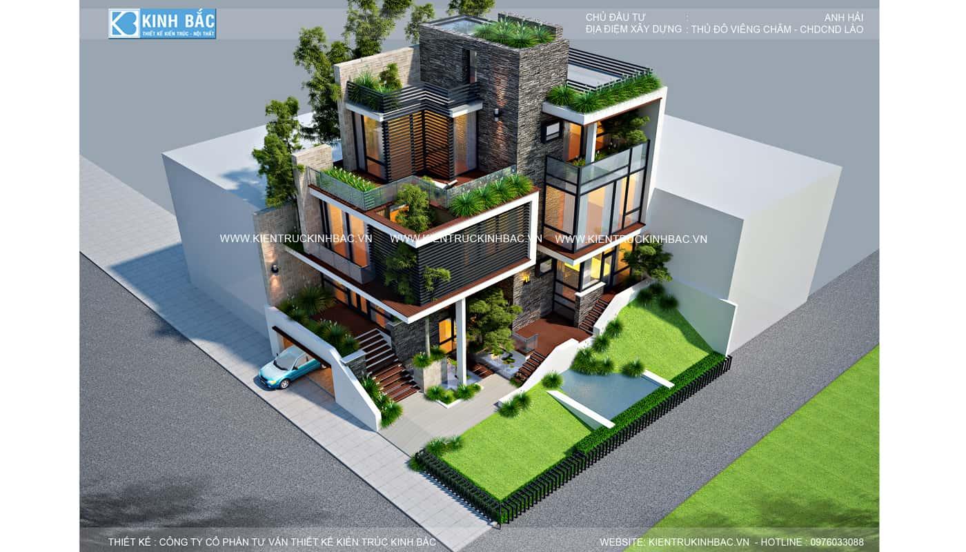 PC3 - Khái niệm và các phong cách trong kiến trúc biệt thự