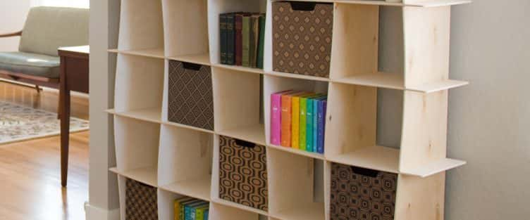 18 mẫu thiết kế tủ sách đẹp với nhiều phong cách