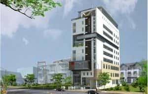 mau khach san nha nghi 011 300x191 - Thiết kế khách sạn ven đường