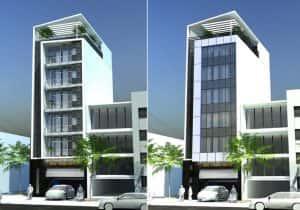 mau khach san nha nghi 018 1 300x210 - Thiết kế khách sạn ven đường
