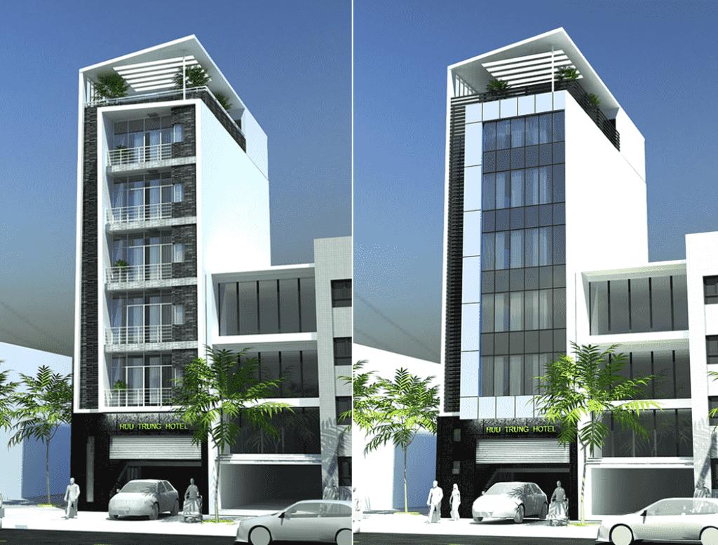 mau khach san nha nghi 03 1 1024x778 - Thiết kế khách sạn ven đường