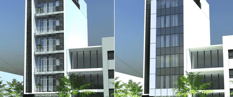 Thiết kế khách sạn nhà nghỉ ở tại Bắc Ninh