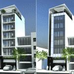 mau khach san nha nghi 03 150x150 - Thiết kế khách sạn 9 tầng đẹp