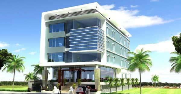 Thiết kế khách sạn nhà nghỉ ở tại Ninh Bình