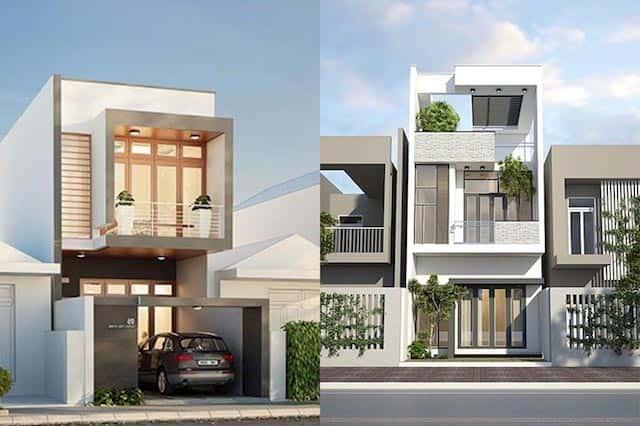 thiet ke nha ha noi 002 - Thiết kế nhà đẹp ở tại Hà Nội