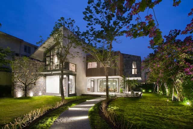 thiet ke nha ha noi 01 - Thiết kế nhà đẹp ở tại Hà Nội