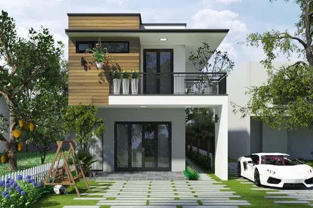 thiet ke nha ha noi 1 - Thiết kế nhà đẹp ở tại Hà Nội