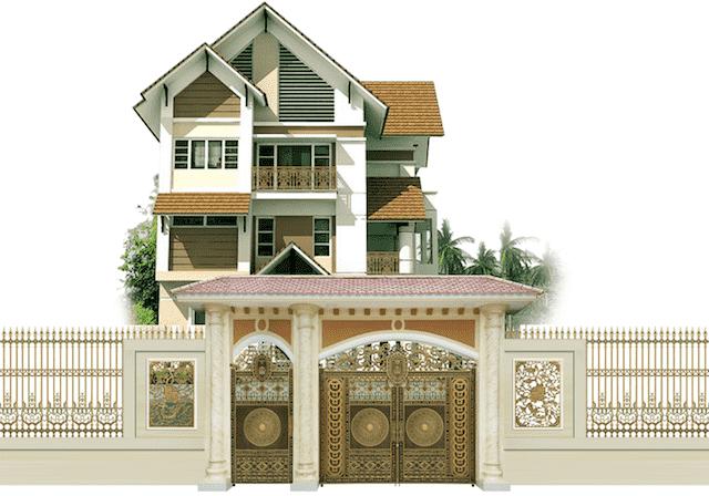 thiet ke nha ha noi 3 - Thiết kế nhà đẹp ở tại Hà Nội