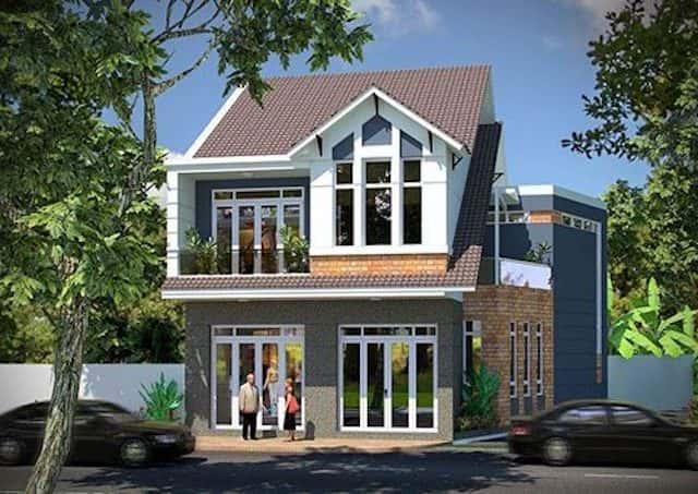 thiet ke nha ha noi 5 - Thiết kế nhà đẹp ở tại Hà Nội