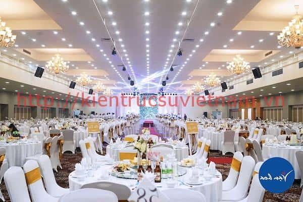 thiet ke nha hang tiec cuoi 3 - Thiết kế trung tâm tổ chức sự kiện nhà hàng tiệc cưới