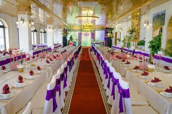 thiet ke nha hang tiec cuoi 5 - Thiết kế trung tâm tổ chức sự kiện nhà hàng tiệc cưới